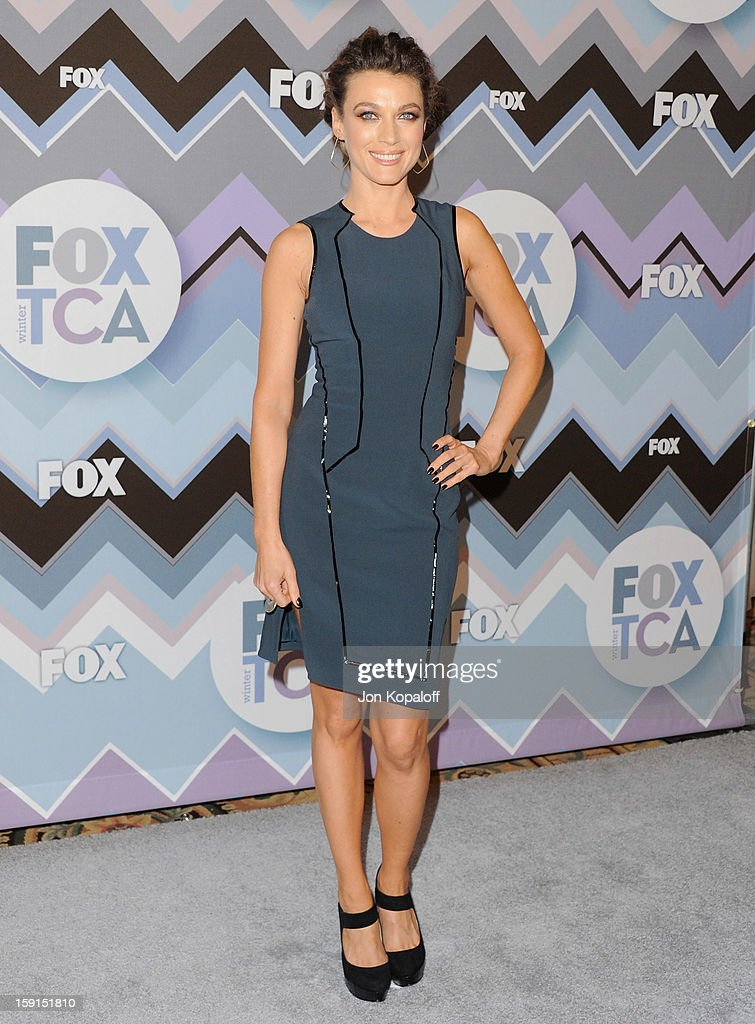 Actress Natalie Zea arrives at the 2013 Winter TCA FOX All-Star Party at The Langham Huntington Hotel and Spa on January 8, 2013 in Pasadena, California.