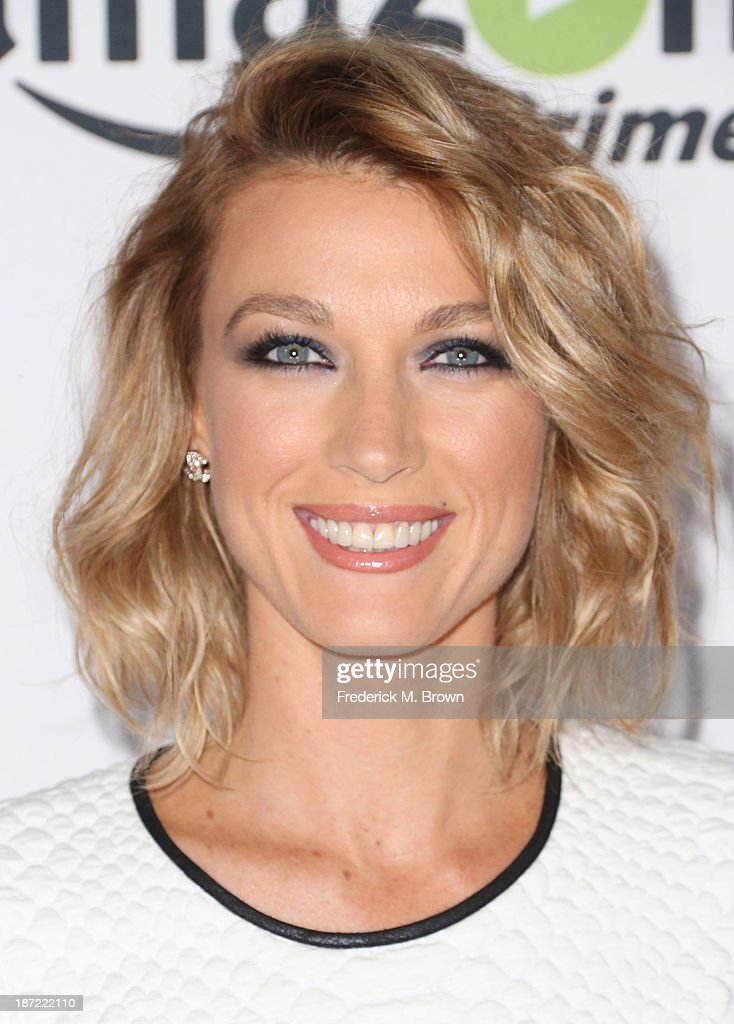 Actress Natalie Zea attends Amazon Studios Launch Party to Celebrate Premieres of their First Original Series at Boulevard3 on November 6, 2013 in Hollywood, California.