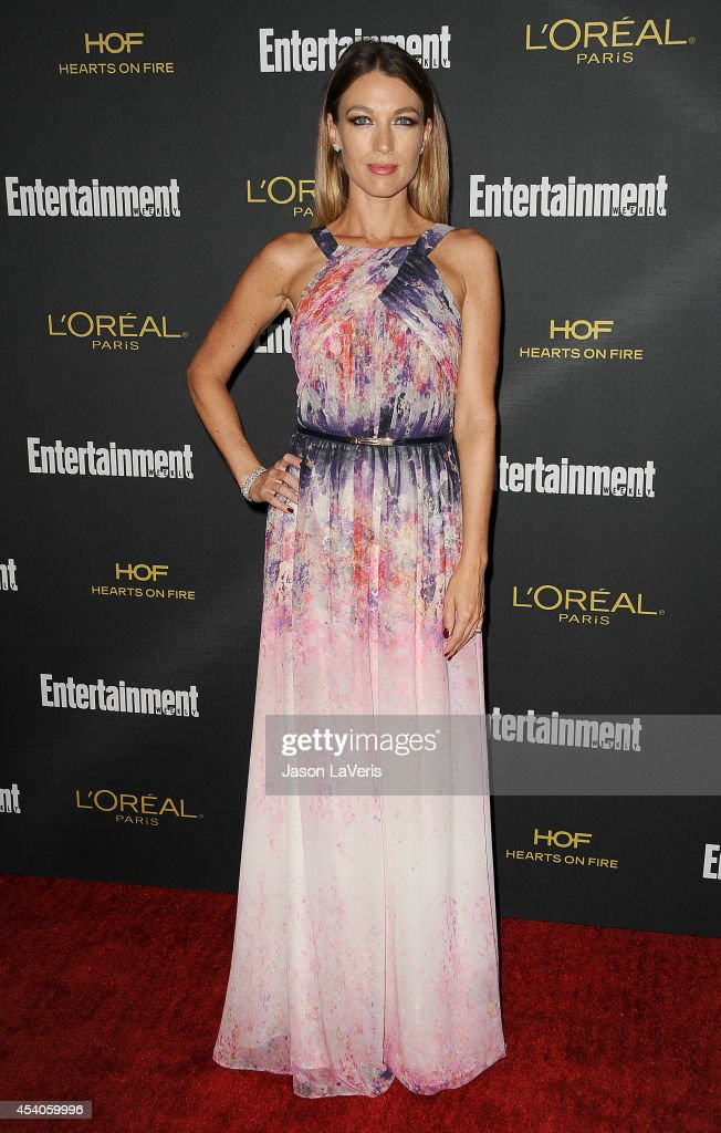 Actress Natalie Zea attends the 2014 Entertainment Weekly preEmmy party at Fig Olive Melrose Place on August 23 2014 in West Hollywood California