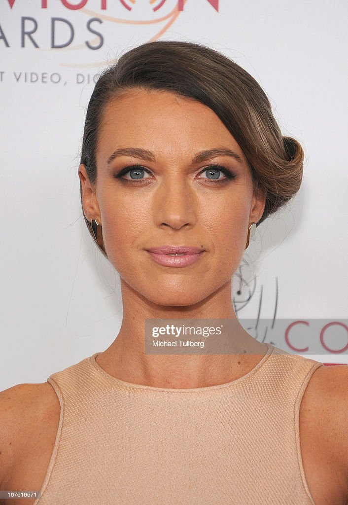 Actress Natalie Zea attends the 34th College Television Awards Gala at JW Marriott Los Angeles at L.A. LIVE on April 25, 2013 in Los Angeles, California.
