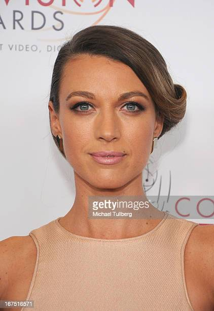 Actress Natalie Zea attends the 34th College Television Awards Gala at JW Marriott Los Angeles at LA LIVE on April 25 2013 in Los Angeles California