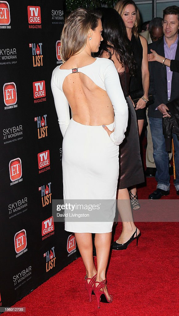 Actress Natalie Zea attends TV Guide Magazine's 2012 Hot List Party at SkyBar at the Mondrian Los Angeles on November 12, 2012 in West Hollywood, California.