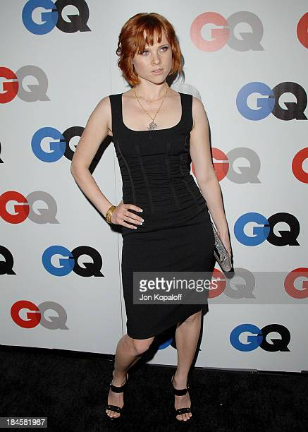Actress Natalya Rudakova arrives at the 13th Annual GQ 'Men of the Year' Party at the Chateau Marmont on November 18 2008 in Los Angeles California