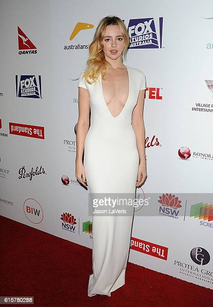 Actress Natasha Bassett attends the Australians In Film 5th annual awards gala on October 19 2016 in Los Angeles California