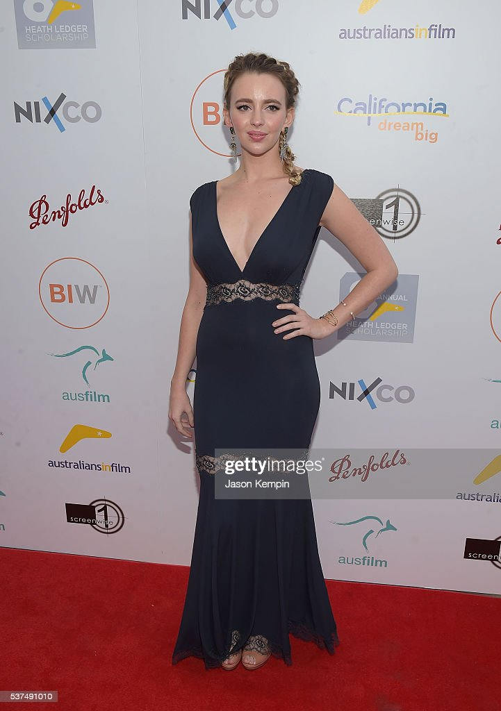 Actress Natasha Bassett attends the Australians In Film Heath Ledger Scholarship Dinner at Mr C Beverly Hills on June 1 2016 in Beverly Hills...