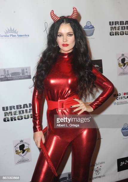 Actress Natasha Blasick attends Halloween Hotness 4 Heating Up For The Cure held at American Legion Hall on October 15 2017 in Los Angeles California