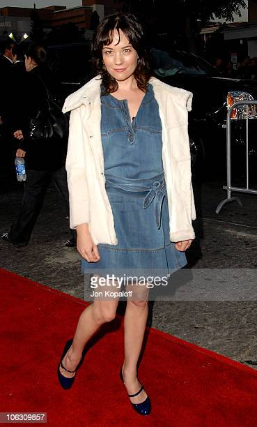 Actress Natasha Gregson Wagner arrives at the Los Angeles Premiere 'The Kingdom' at the Mann Village Theater on September 17 2007 in Westwood...