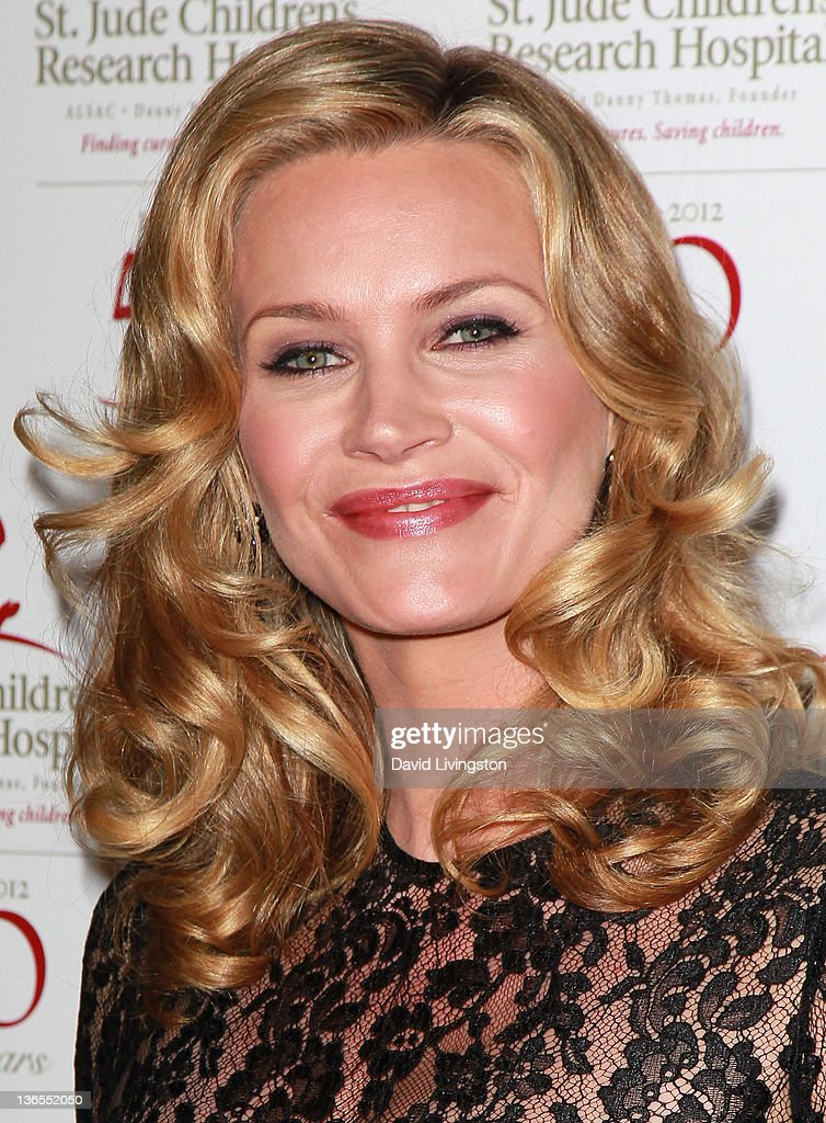 Actress Natasha Henstridge attends the 50th anniversary celebration for St. Jude Children's Research Hospital at The Beverly Hilton hotel on January 7, 2012 in Beverly Hills, California.