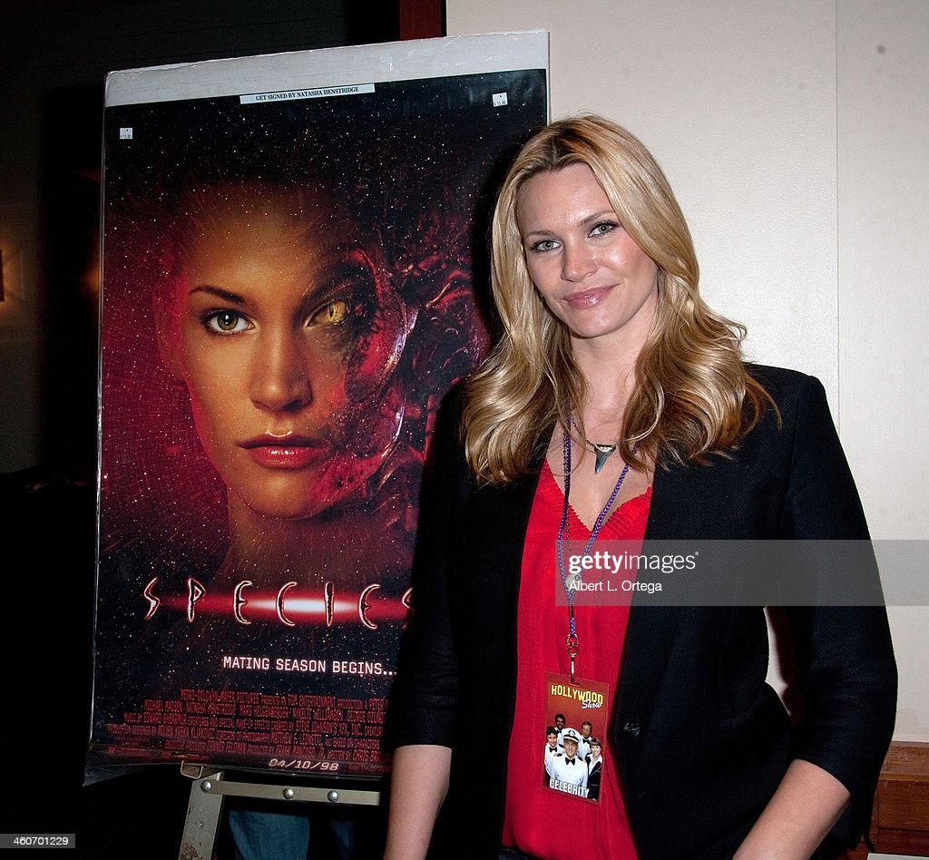 Actress <a gi-track='captionPersonalityLinkClicked' href=/galleries/search?phrase=Natasha+Henstridge&family=editorial&specificpeople=209364 ng-click='$event.stopPropagation()'>Natasha Henstridge</a> attends The Hollywood Show at Lowes Hollywood Hotel on January 4, 2014 in Hollywood, California.