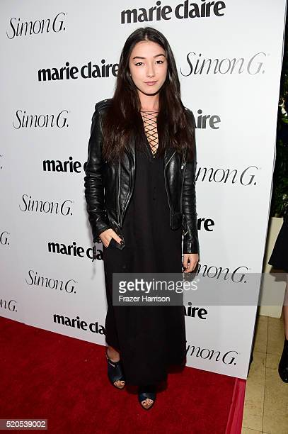 Actress Natasha Liu Bordizzo attends the 'Fresh Faces' party hosted by Marie Claire celebrating the May issue cover stars on April 11 2016 in Los...