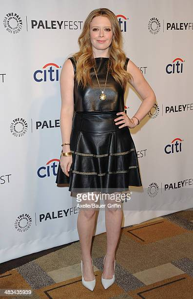 Actress Natasha Lyonne arrives at the 2014 PaleyFest 'Orange Is The New Black' event at the Dolby Theatre on March 14 2014 in Hollywood California
