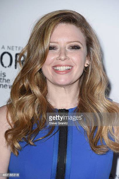 Actress Natasha Lyonne attends Netflix's 'Orange is the New Black' panel discussion at Directors Guild Of America on August 4 2014 in Los Angeles...
