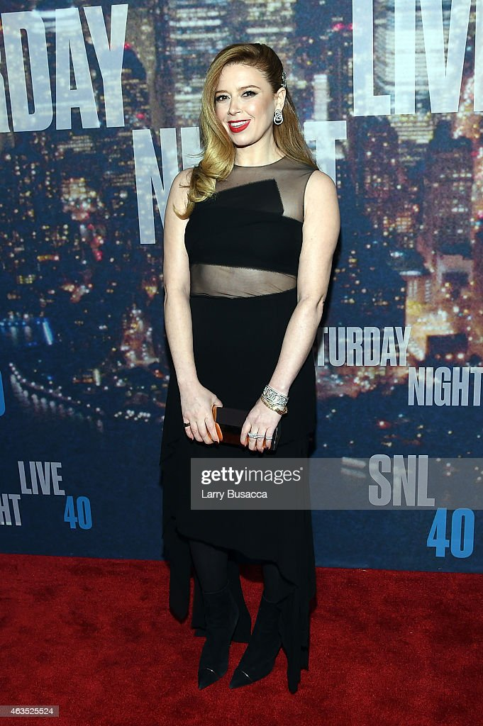 Actress Natasha Lyonne attends SNL 40th Anniversary Celebration at Rockefeller Plaza on February 15 2015 in New York City