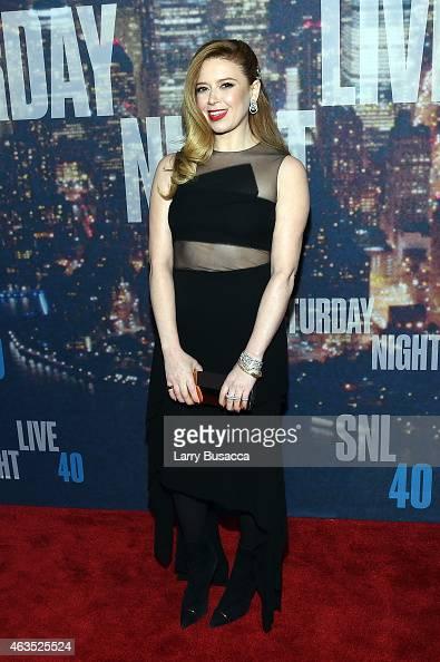 Actress Natasha Lyonne attends SNL 40th Anniversary Celebration at Rockefeller Plaza on February 15 2015 in New York City