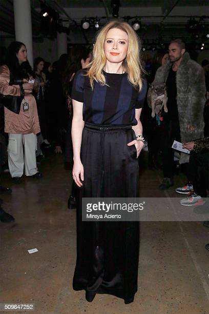 Actress Natasha Lyonne attends the Adam Selman fashion show during Fall 2016 MADE Fashion Week at Milk Studios on February 11 2016 in New York City