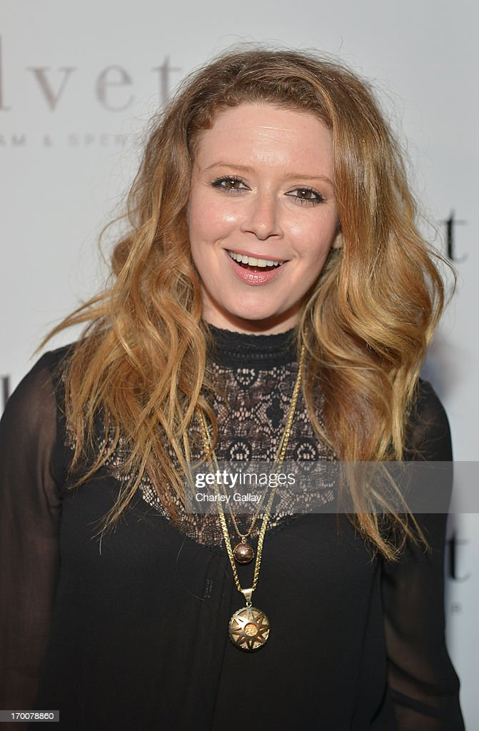 Actress <a gi-track='captionPersonalityLinkClicked' href=/galleries/search?phrase=Natasha+Lyonne&family=editorial&specificpeople=1537481 ng-click='$event.stopPropagation()'>Natasha Lyonne</a> attends the opening of the Velvet by Graham & Spencer store on June 6, 2013 in Brentwood, California.