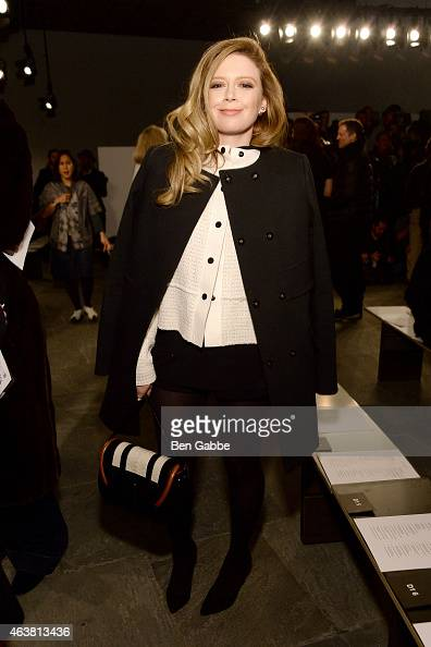 Actress Natasha Lyonne attends the Proenza Schouler fashion show during MercedesBenz Fashion Week Fall 2015 at the Marcel Breuer Building on February...