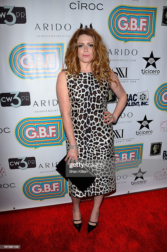Actress <a gi-track='captionPersonalityLinkClicked' href=/galleries/search?phrase=Natasha+Lyonne&family=editorial&specificpeople=1537481 ng-click='$event.stopPropagation()'>Natasha Lyonne</a> attends the screening of 'G.B.F.' during the 2013 Tribeca Film Festival at Studio XXI on April 19, 2013 in New York City.