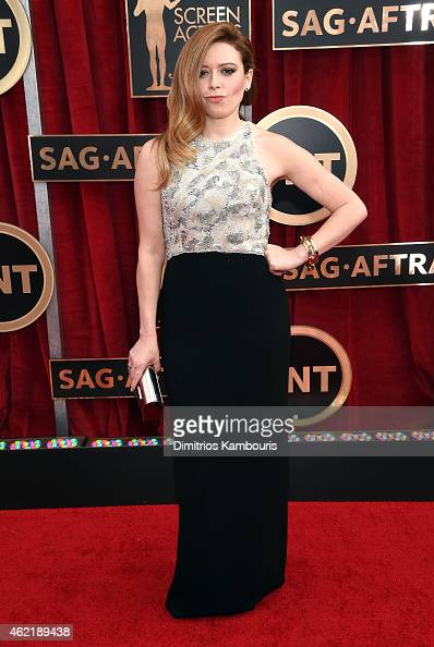 Actress Natasha Lyonne attends TNT's 21st Annual Screen Actors Guild Awards at The Shrine Auditorium on January 25 2015 in Los Angeles California...