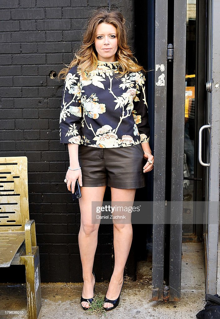 Actress Natasha Lyonne is seen outside the Honor show on September 5, 2013 in New York City.