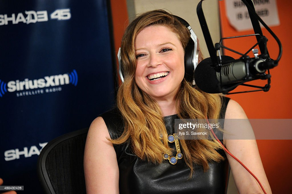 Actress Natasha Lyonne visits 'Sway In The Morning' on Shade 45 at the SiriusXM Studios on June 11, 2014 in New York City.
