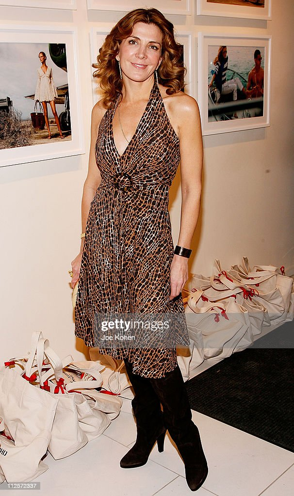 Actress Natasha Richardson attends Michael Kors Store Opening in Soho New York on December 10 2007 in New York City