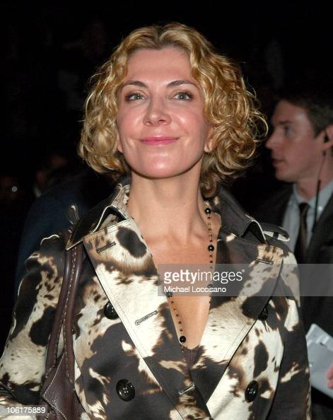 Actress Natasha Richardson front row at the MercedesBenz Fashion Week Fall 2008 Michael Kors show at The Tent in New York City's Bryant Park on...