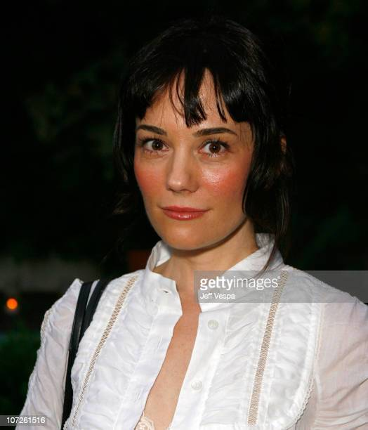 Actress Natasha Wagner attends the Lucky Magazine and Foley Corinna's Resort Collection Launch at the Chateau Marmont on July 25 2007 in Hollywood...