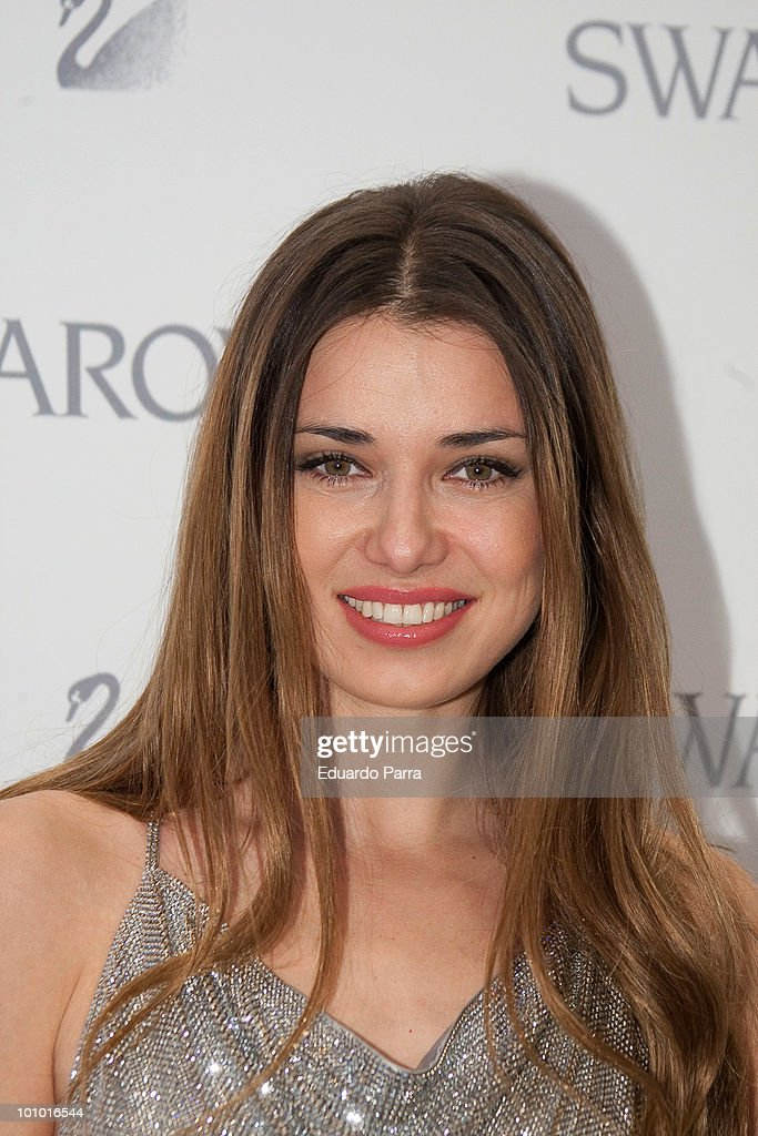 Actress Natasha Yarovenko attends Swarovski new boutique opening photocall at Swarovski boutique Gran Via 39 on May 27, 2010 in Madrid, Spain.