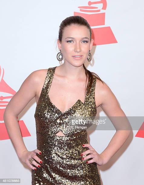 Actress Nathalia Ramos arrives at the 2013 Latin Recording Academy Person Of The Year Tribute Honoring Miguel Bose at the Mandalay Bay Convention...