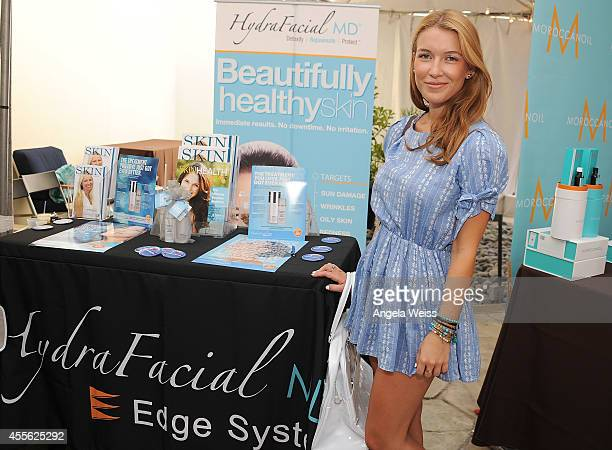 Actress Nathalia Ramos attends SPLASH an Exclusive Media Event by Live Love Spa at the Hyatt Regency Century Plaza on September 17 2014 in Century...