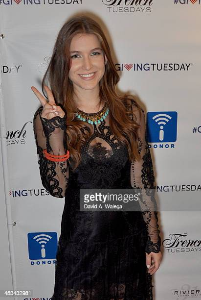 Actress Nathalia Ramos attends the 'Igniting The 21st Century Philanthropist' event at the Sofitel Hotel on December 3 2013 in Los Angeles California