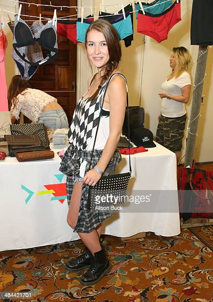 Actress Nathalia Ramos attends the Kari Feinstein Music Festival Style Lounge at La Quinta Resort and Club on April 11 2014 in La Quinta California