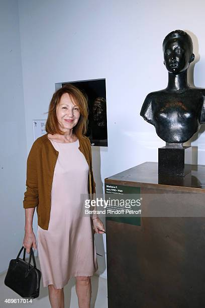 Actress nathalie Baye attends Museum Paul Belmondo celebrates its 5th Anniversary on April 13 2015 in BoulogneBillancourt France