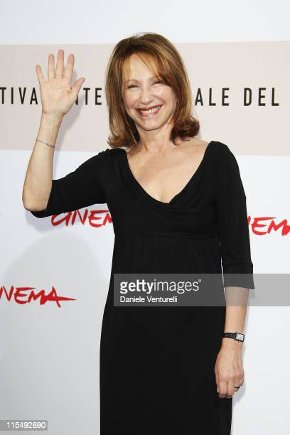 Actress Nathalie Baye attends the A French Gigolo Photocall during the 3rd Rome International Film Festival held at the Auditorium Parco della Musica...