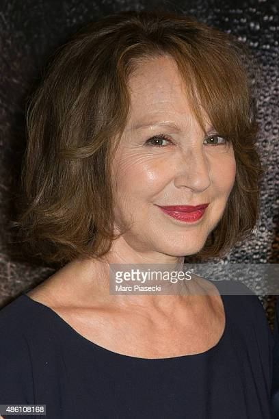 Actress Nathalie Baye attends the 'La Volante' Premiere at Ugc Cine Cite La Defense on August 31 2015 in ParisLa Defense France