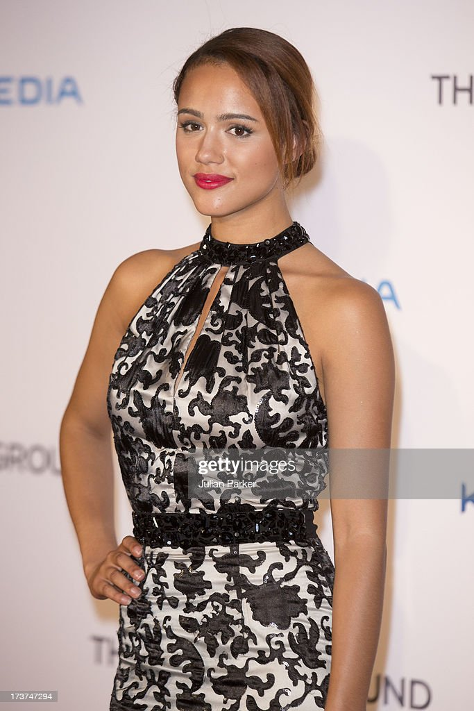 Actress <a gi-track='captionPersonalityLinkClicked' href=/galleries/search?phrase=Nathalie+Emmanuel&family=editorial&specificpeople=4305836 ng-click='$event.stopPropagation()'>Nathalie Emmanuel</a> attends the UK Premiere of 'The Frozen Ground' at Vue West End on July 17, 2013 in London, England.