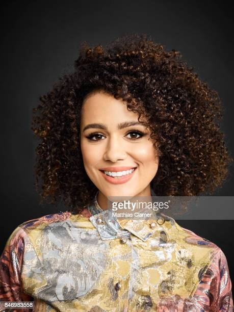 Actress Nathalie Emmanuel from 'Game of Thrones' is photographed for Entertainment Weekly Magazine on July 22 2016 at Comic Con in the Hard Rock...