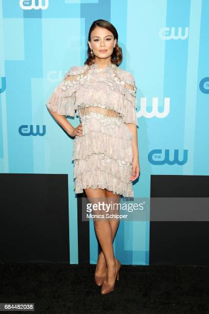 Actress Nathalie Kelley attends the 2017 CW Upfront on May 18 2017 in New York City