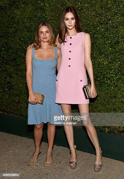 Actress Nathalie Love and model Laura Love attend Claiborne Swanson Frank's Young Hollywood book launch hosted by Michael Kors at Private Residence...
