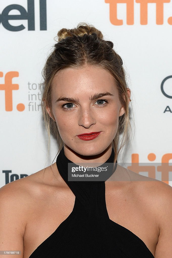 Actress Nathalie Love arrives at the 'Palo Alto' premiere during the 2013 Toronto International Film Festival at Scotiabank Theatre on September 6, 2013 in Toronto, Canada.