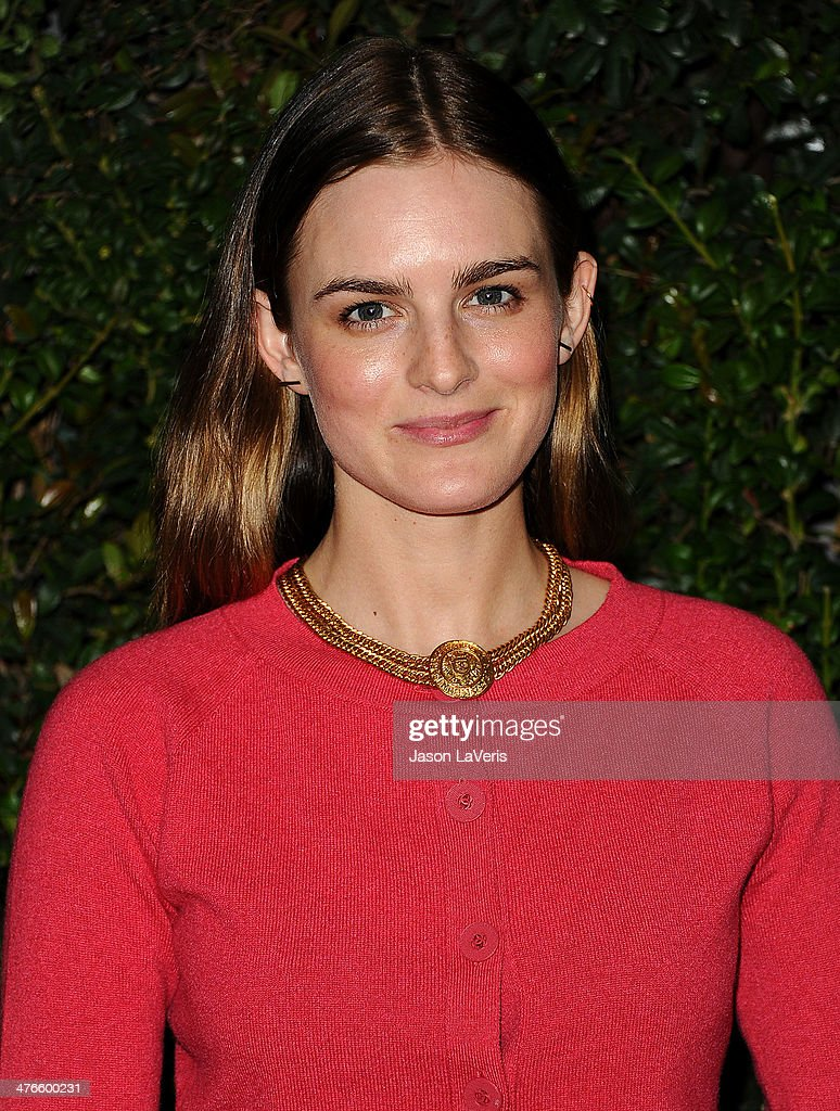 Actress Nathalie Love attends the Chanel and Charles Finch pre-Oscar dinner at Madeo Restaurant on March 1, 2014 in Los Angeles, California.