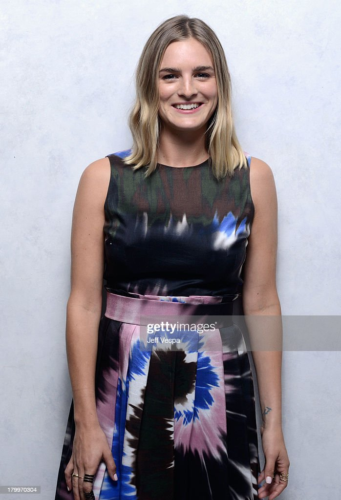 Actress Nathalie Love of 'Palo Alto' poses at the Guess Portrait Studio during 2013 Toronto International Film Festival on September 7, 2013 in Toronto, Canada.