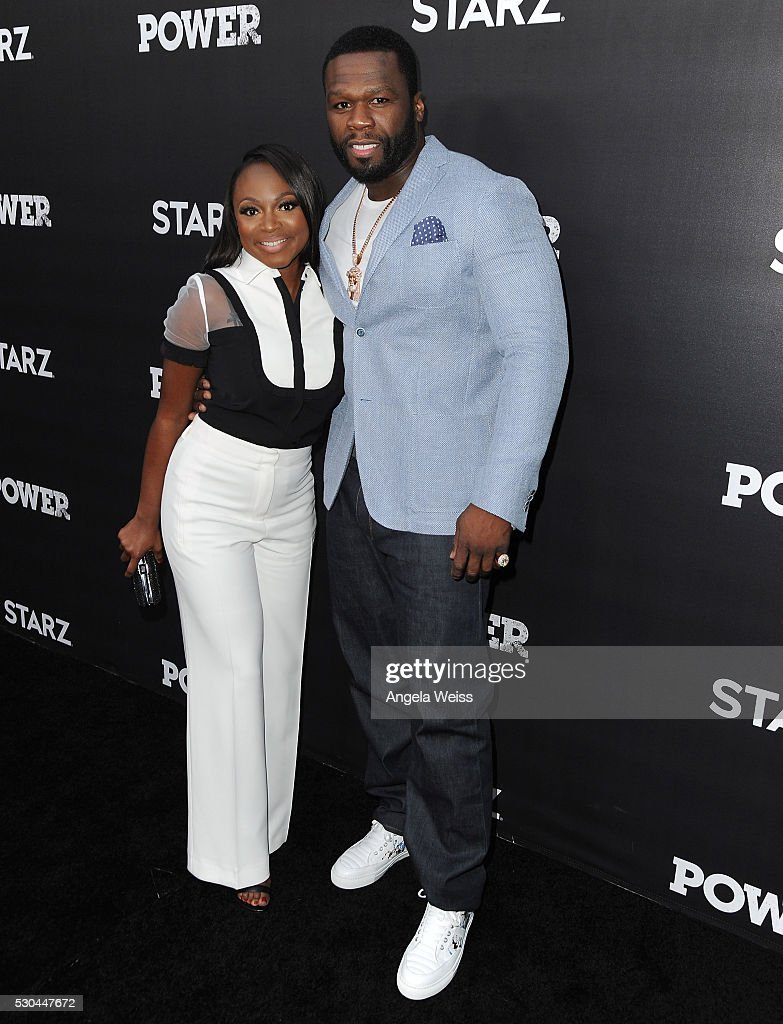 Actress Naturi Naughton and rapper Curtis '50 Cent' Jackson attend the For Your Consideration Event for STARZs' 'Power' at ArcLight Hollywood on May...