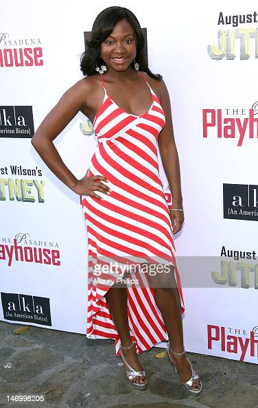 Actress Naturi Naughton attends Opening Night Performance of August Wilson's 'Jitney' at the Pasadena Playhouse on June 24 2012 in Pasadena California