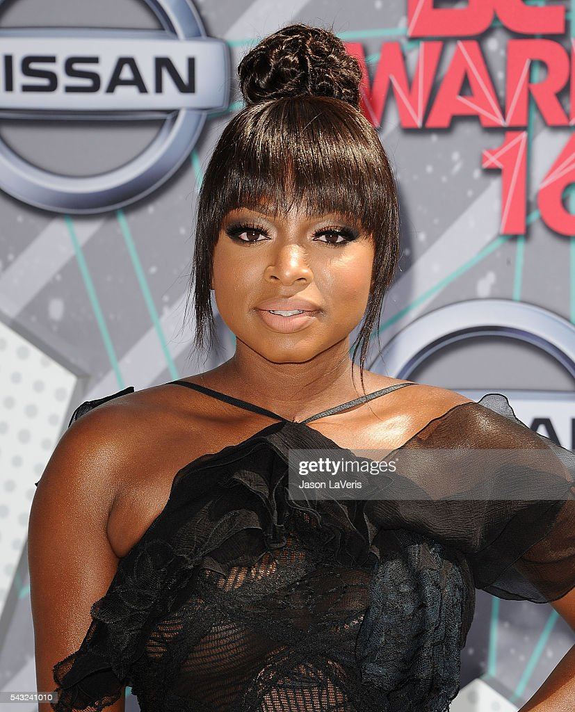 Actress Naturi Naughton attends the 2016 BET Awards at Microsoft Theater on June 26 2016 in Los Angeles California