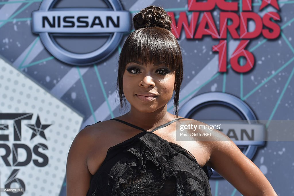 Actress <a gi-track='captionPersonalityLinkClicked' href=/galleries/search?phrase=Naturi+Naughton&family=editorial&specificpeople=2559512 ng-click='$event.stopPropagation()'>Naturi Naughton</a> attends the 2016 BET Awards at the Microsoft Theater on June 26, 2016 in Los Angeles, California.