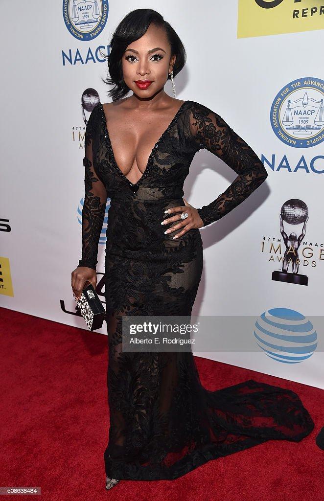 Actress Naturi Naughton attends the 47th NAACP Image Awards presented by TV One at Pasadena Civic Auditorium on February 5 2016 in Pasadena California