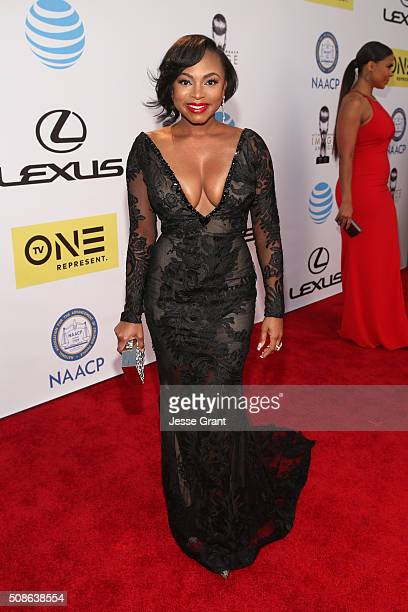 Actress Naturi Naughton attends the 47th NAACP Image Awards presented by TV One at Pasadena Civic Auditorium on February 5 2016 in Pasadena California