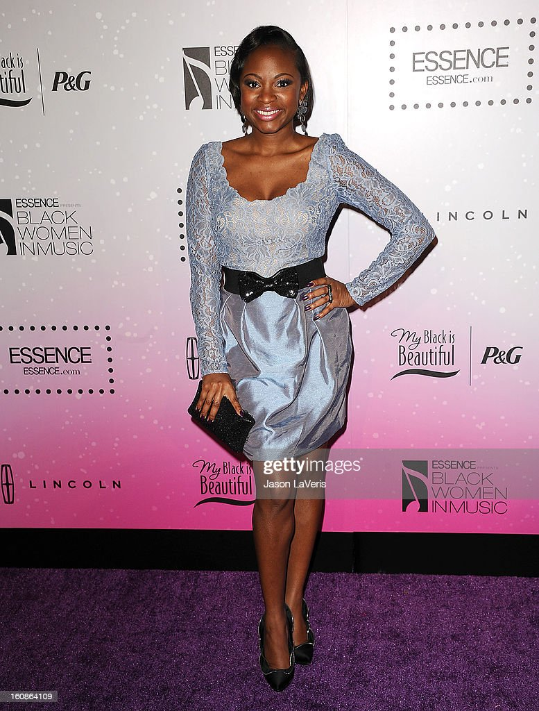 Actress Naturi Naughton attends the 4th annual ESSENCE Black Women In Music event at Greystone Manor Supperclub on February 6, 2013 in West Hollywood, California.